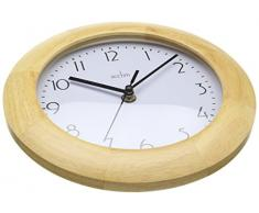 Acctim 24221 Epsilon Reloj de pared, color madera