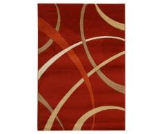 ABC Tappeti Alfombra Terra Rojo/Beige 133 x 190 cm