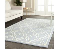 Safavieh Alfombra Elle Textured Area Rug, 152 X 243 Cm Azul Claro size is not in selection ES