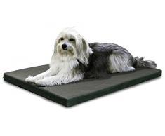 furhaven Pan cama cajón o de la perrera Pad de mascota Perro Cama, resistente al agua al aire libre interior