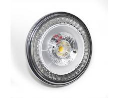 Ledbox LD1032726 - Foco LED, AR111, G53, 15 W, color blanco cálido