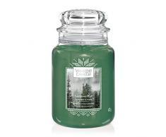 Yankee Candle Vela Aromática en Tarro Grande, Neblina Incesante, Colección Alpine Christmas, Duración de Combustión de Hasta 150 Horas