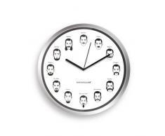Kikkerland CL37 - Reloj de pared