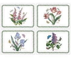 Pimpernel - Manteles Individuales, diseño de jardinería, tamaño Grande (Juego de 4)