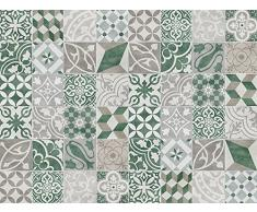 Viniliko Alfombra, Vinilo, Verde, 100x133x0,26 cm