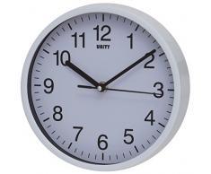 Unity Radcliffe reloj de pared silencioso, blanco
