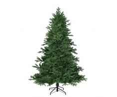 Negro de árboles 382757-02 árbol de Navidad Artificial, Kiowa, altura 215 cm, diámetro: 142 cm, 1992 de ramas de polietileno/aguja