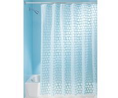 InterDesign - Honeycomb - Cortina para ducha - 183 x 183 - Agua