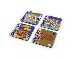 Nintendo CSP0022 Posavasos, multicolor
