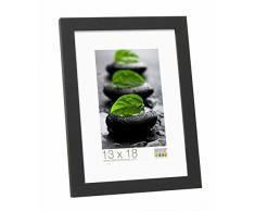 Deknudt Frames S44CF2-40.0X60.0 - Marco de fotos (madera, marco fino, 63,5 x 43,5 x 1,47 cm), color negro