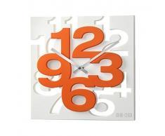 3 D diseño moderno reloj de pared de 1106 de cocina baduhr oficina reloj de la decoración tranquila