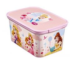 Curver 217789 Toy storage box Independiente Rosa caja de juguete y de almacenamiento - Cajas de juguetes y de almacenamiento (Toy storage box, Rosa, Independiente, Imagen, Disney, Habitación de los niños)