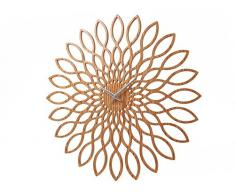 Karlsson KA5394 - Reloj de pared, diseño de girasol