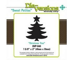 Sweet Petites - Troquel con Forma de árbol de Navidad