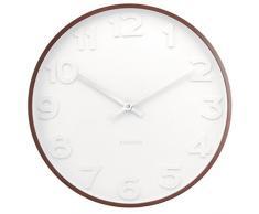 Karlsson Mr. White - Reloj de pared, números