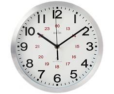 ACCTIM CENTURY - Reloj analógico de pared aluminio