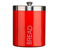 Premier Housewares - Panera color rojo (tapa color plateado)