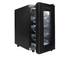 Lacor Black Line 69178 - Armario refrigerador, 8 botellas, 50 W, 23 litros