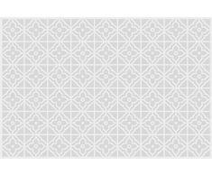 VINILIKO, Alfombra de vinilo, Jalousie, Gris, 66x100 cm