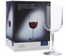 Vivo-Villeroy y boch Group /'Voice Basic-cristal/' vino tinto vidrio 497 ml set...