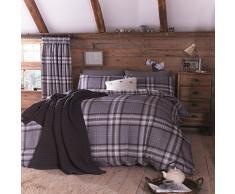Catherine Lansfield Kelso - Juego de funda nórdica para cama de 150 cm