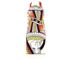 Gift Republic - Delantal, diseño de reina de corazones