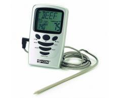 CDN Leave-In - Termómetro y temporizador de cocina (de 0 ºC a 250 ºC)