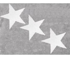 Aratextil Europa Alfombra Infantil, Algodón, Gris, 120x160 cm