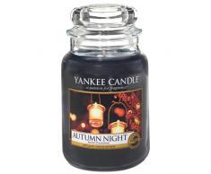Yankee Candle vela en tarro grande, Noche de otoño