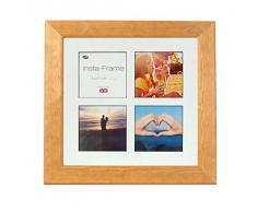 Inov8 16 x 40,64 cm Insta-Frame Catherine marco para Instagram 4/de estampado a cuadros de fotos con paspartú blanco y negro con borde, madera de pino