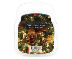 Village Candle - Paquete de cera para derretir, Árbol de Navidad