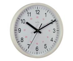ACCTIM WHT21202 - Reloj analógico de pared blanco