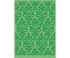 Cricut Cuttlebug Kassies Brocade - Carpeta para estampados en relieve (12,7 x 17,7 cm)