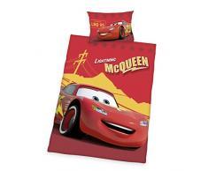 Herding Juego de Cama de Disney s Cars, algodón, Rojo, 135x 100cm