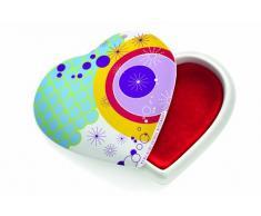 Ritzenhoff Le Petit - Joyero de cerámica, diseño de corazón de Kurz Kurz