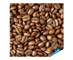 Adhesivo para azulejos para baño y cocina – 15 x 15 cm – Diseño de granos de café – Baldosas de 10 pegatinas para pared azulejos