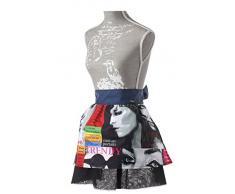 Vigar Lulu Trendy Girl - Set Set de gorro para cocina y delantal, color azul