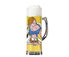 Ritzenhoff Marcel Bierenbroodspot - Jarra de Cerveza (0,5 L, con Posavasos)