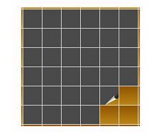 Adhesivo para azulejos para baño y cocina – 10 x 10 cm – Color GRIS oscuro mate – 160 adhesivos para azulejos para pared azulejos