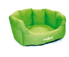 Croci mascota cama Gaia, 44 cm, verde