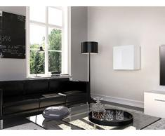 THETA DESIGN by Homemania Armario, Armario Graz, Cuerpo: Color Negro Mate, Frente: Negro Brillante PVC
