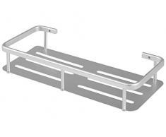 Desconocido H&H - Estante Rectangular, Aluminio, 28 x 12 x 5 cm, Color Gris 0