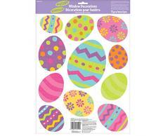 amscan Huevos de Pascua con Purpurina decoración para Ventana