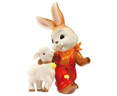 Goebel Ostern Conejo de Pascua, Porcelana, Multicolor, 17.50x12.50x24 cm