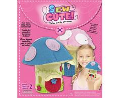 Colorbok Whipped Papel Guirnalda de casa LED Sew Cute Kit de costura