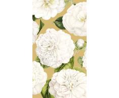 Caspari Toallas de Papel para Invitados Camellia, Color Dorado, 11 x 20 x 3 cm