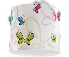 Dalber Butterfly Lámpara Infantil, Multicolor