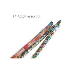Comarco Sa Display 24 Rollos Papel Regalo Ass.2 70x200 cm