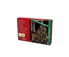 Cadena de luces para árbol Konstsmide, guirnalda, Navidad, 16 bombillas transparentes, 230 V, para interiores, cable verde 1002-000