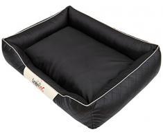 Hobbydog Cesarean - Cama para Perro, Talla 1, Color Negro y Beige